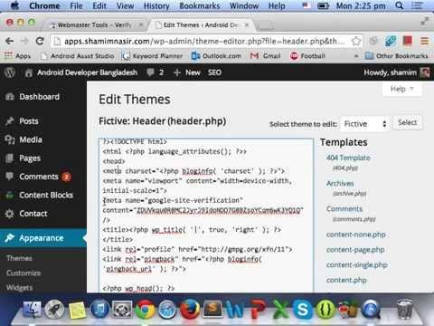 Google Webmaster Tools – (Part 01)