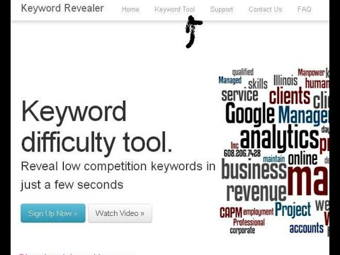 Keyword Research With KeywordRevealer | Bangla Tut