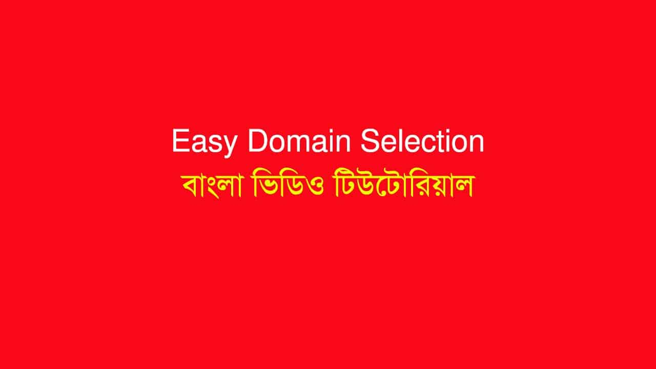 How to Select Domain Names For Niche Websites & Brand