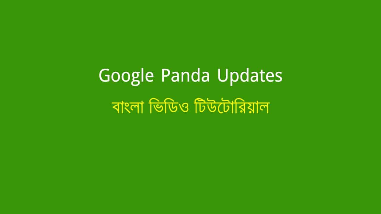 Google Panda Penalty Recovery [A Complete Guideline]
