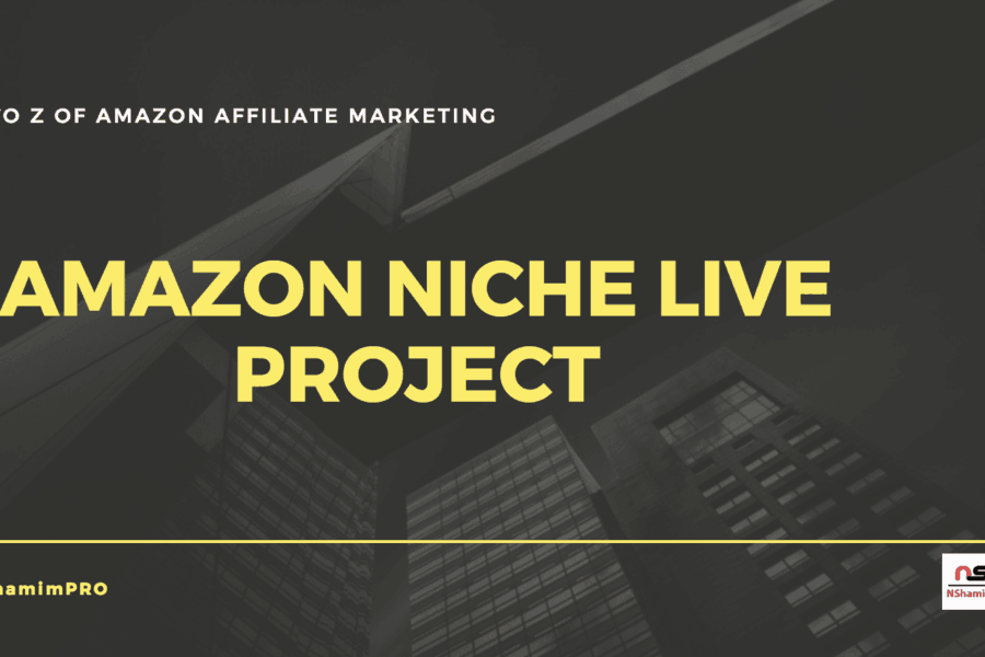 amazon niche site live project bangla